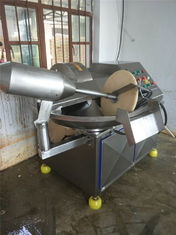 China 6 Knives Meat Chopper Machine , Energy Saving Industrial Bowl Chopper supplier