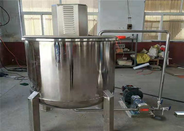 China Electric Heating Agitator Mixing Tank , Liquid Pharmaceutical Mixing Tank supplier