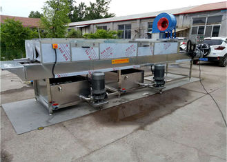 China Stainless Steel Tray Washing Machine , High Pressure Spray Industrial Crate Washers supplier