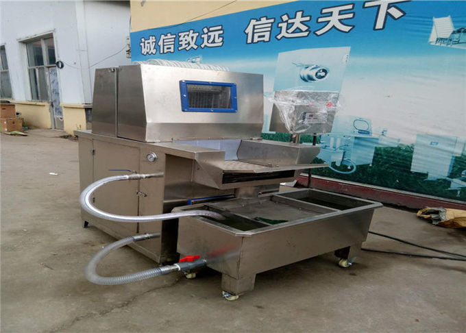 Saline Injection Meat Processing Machine 6KW Power 900 - 1100 Kg / H Capacity
